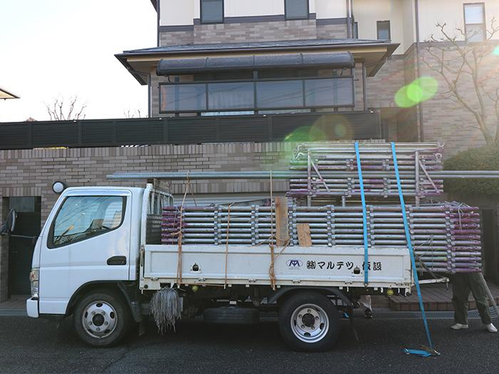 神戸市西区 U様邸【バルコニーの修繕】 の工事中画像1