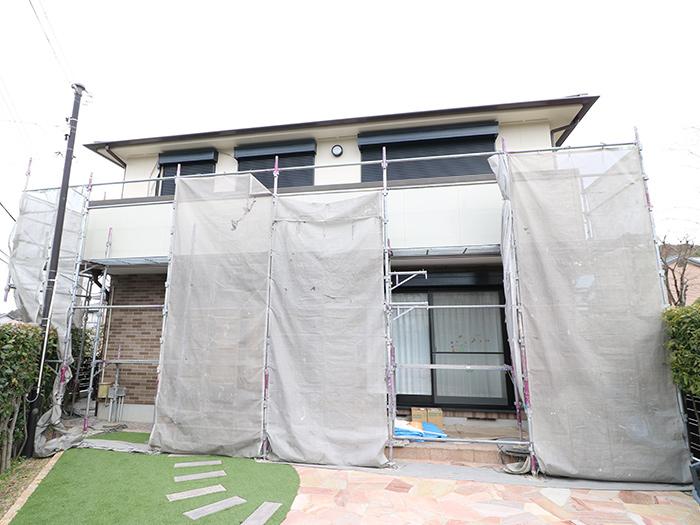 神戸市西区 U様邸【バルコニーの修繕】 の工事中画像2