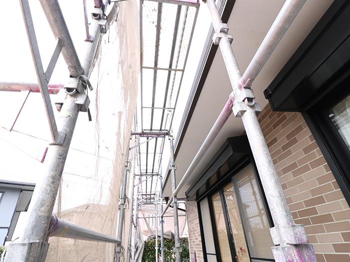 神戸市西区 U様邸【バルコニーの修繕】 の工事中画像3