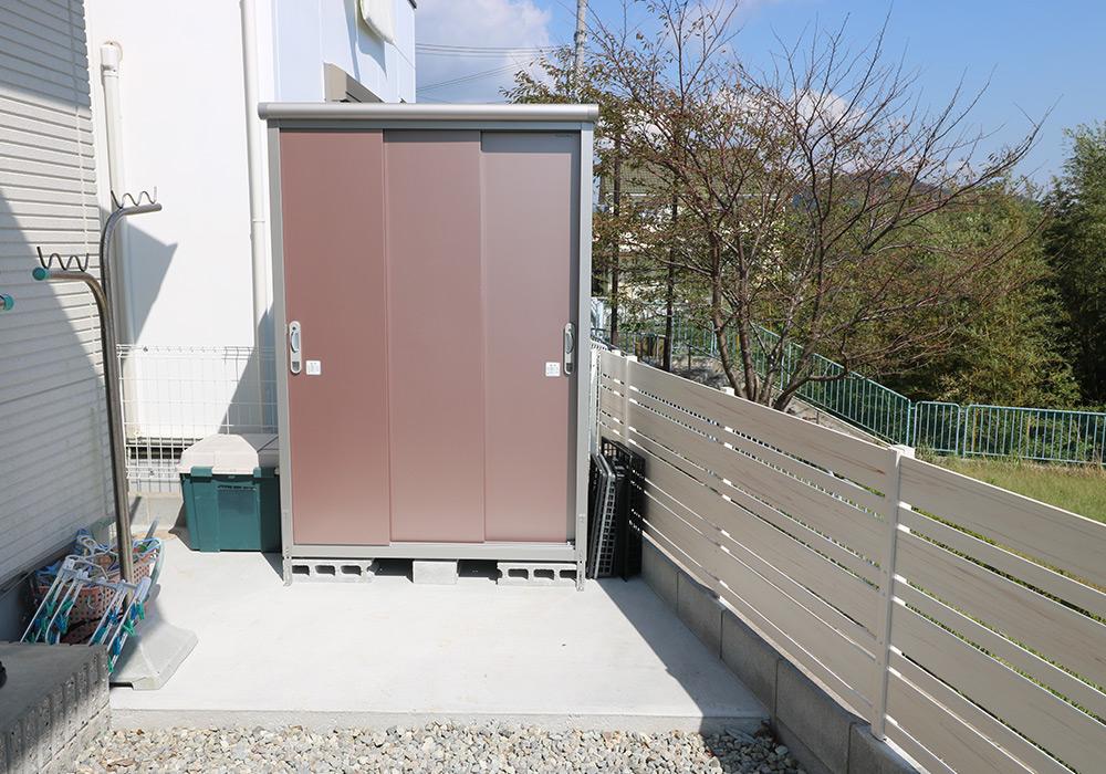 神戸市垂水区 T様邸【フェンスの修繕・物置の交換】 のアフター画像1