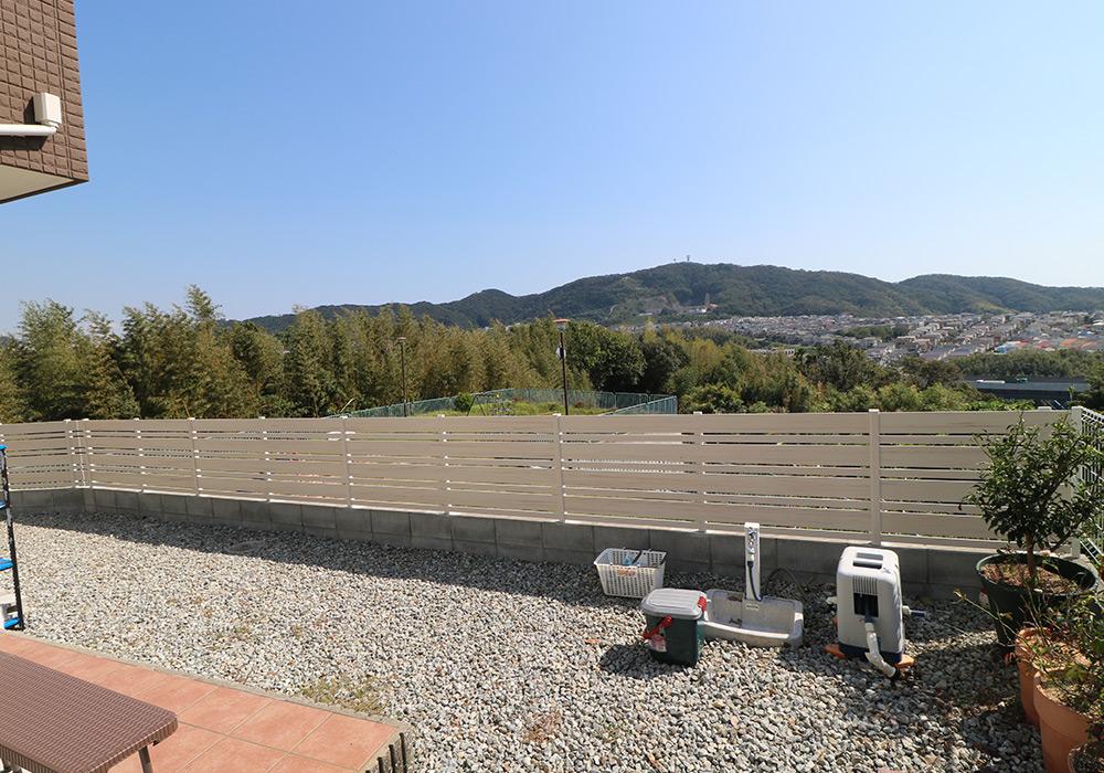 神戸市垂水区 T様邸【フェンスの修繕・物置の交換】 のアフター画像3