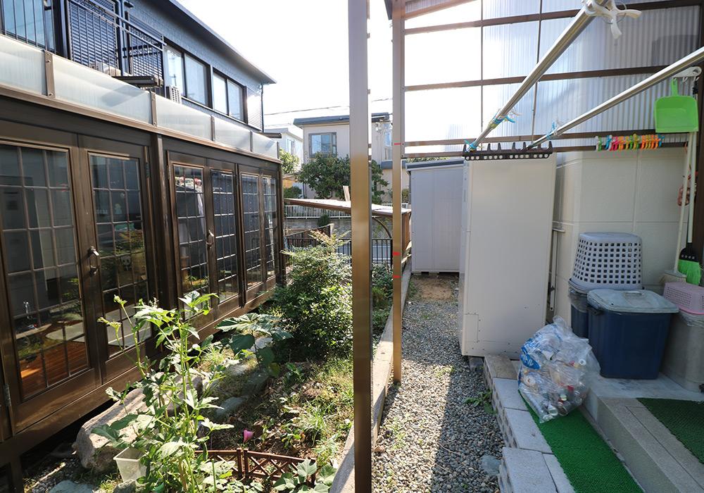 神戸市垂水区 I様邸【フェンスの修繕】 のビフォー画像1