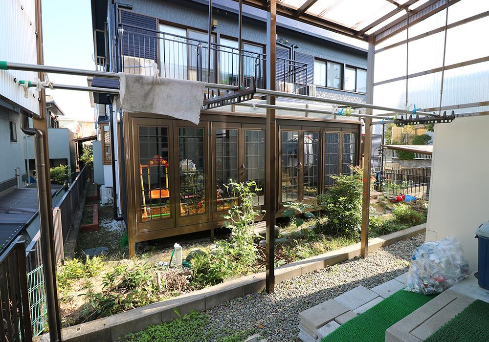 神戸市垂水区 I様邸【フェンスの修繕】 のビフォー画像2