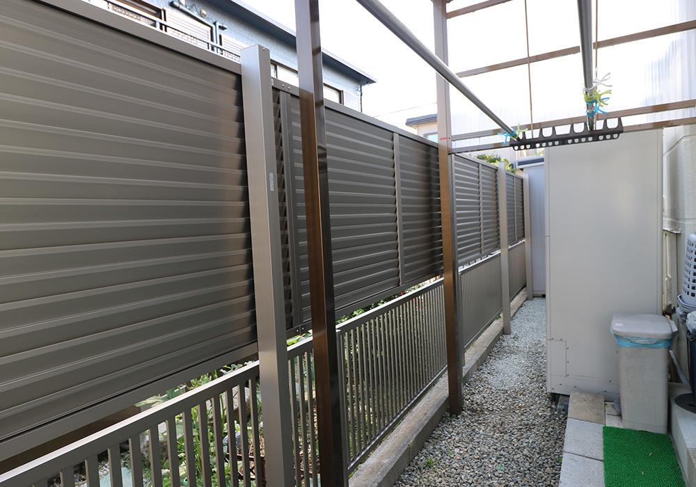 神戸市垂水区 I様邸【フェンスの修繕】 のアフター画像1