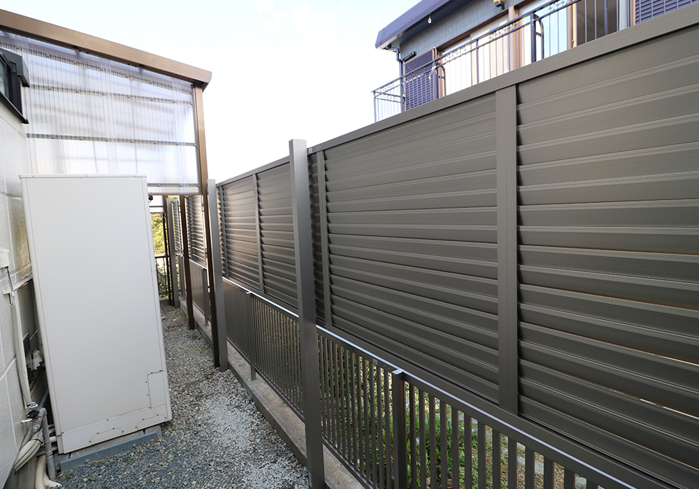 神戸市垂水区 I様邸【フェンスの修繕】 のアフター画像2