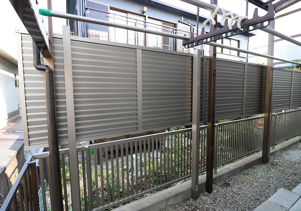 神戸市垂水区 I様邸【フェンスの修繕】 のアフター画像3