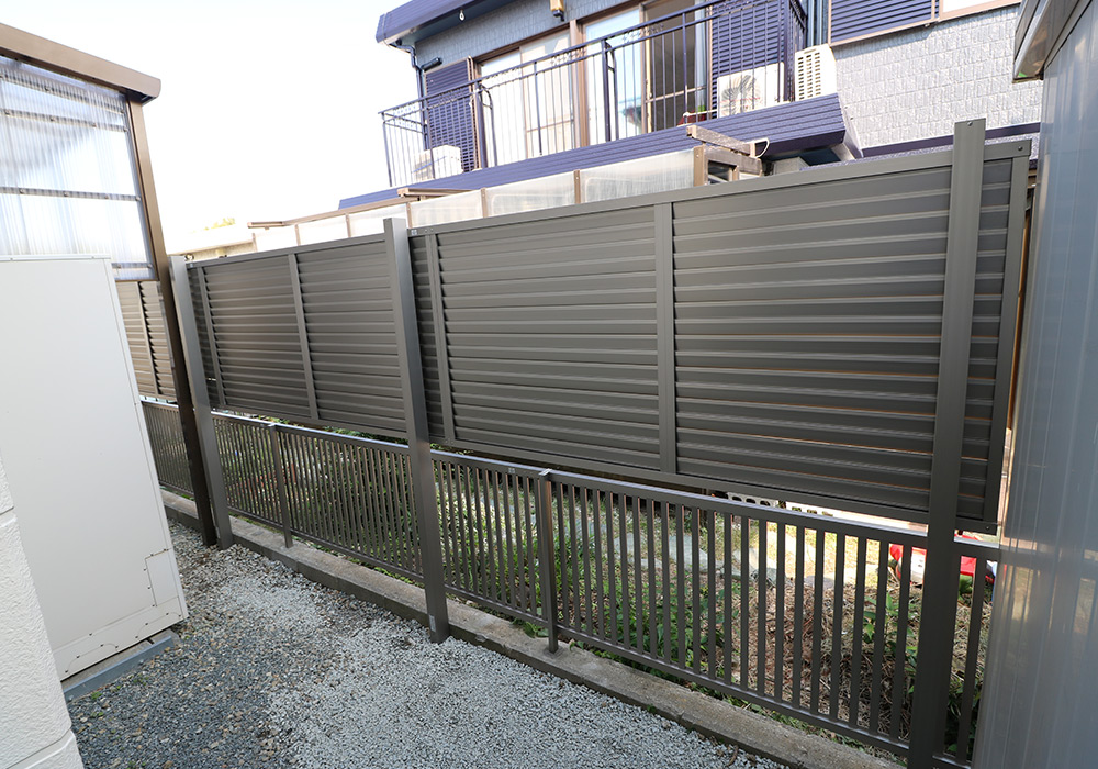 神戸市垂水区 I様邸【フェンスの修繕】 のアフター画像4