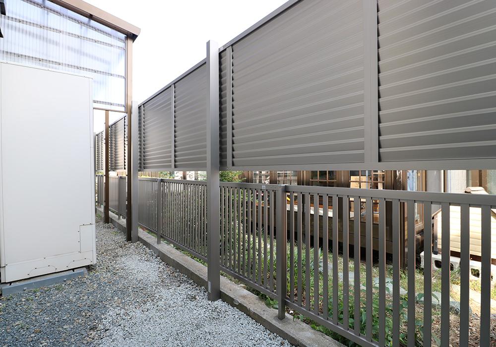 神戸市垂水区 I様邸【フェンスの修繕】 のアフター画像5
