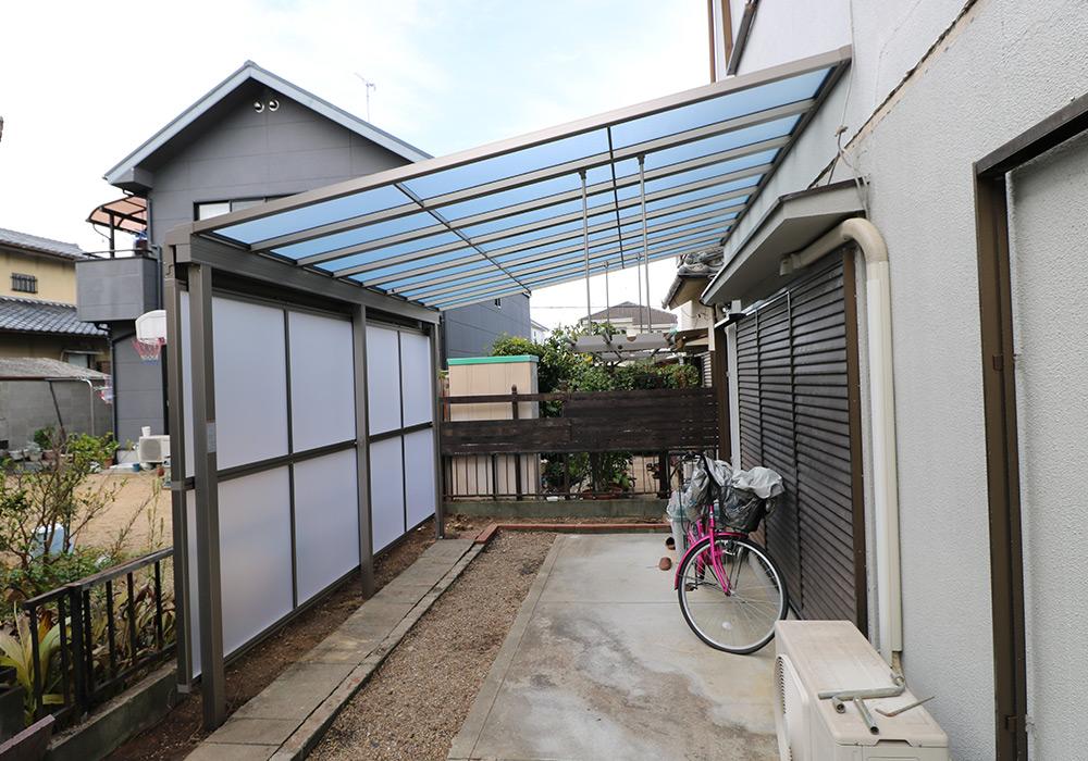 三木市 A様邸【カーポート・テラス屋根の修繕】 のアフター画像5