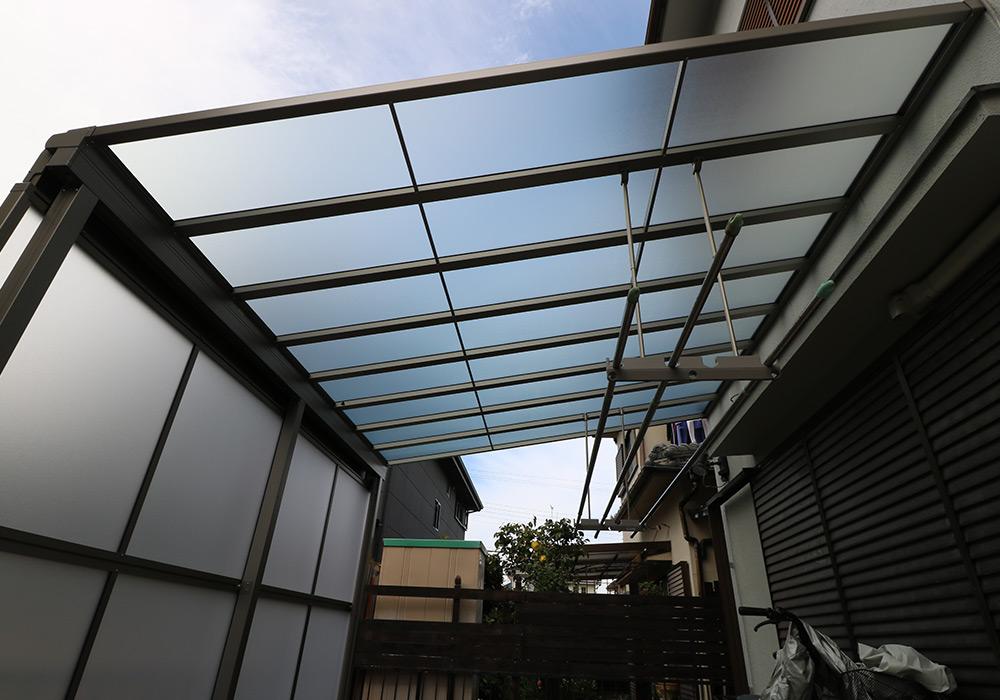 三木市 A様邸【カーポート・テラス屋根の修繕】 のアフター画像7