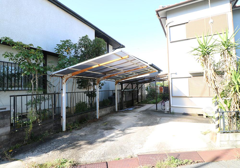 三木市 A様邸【カーポート・テラス屋根の修繕】 のビフォー画像2