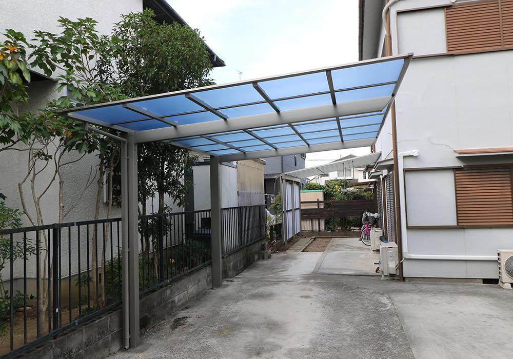三木市 A様邸【カーポート・テラス屋根の修繕】 のアフター画像1
