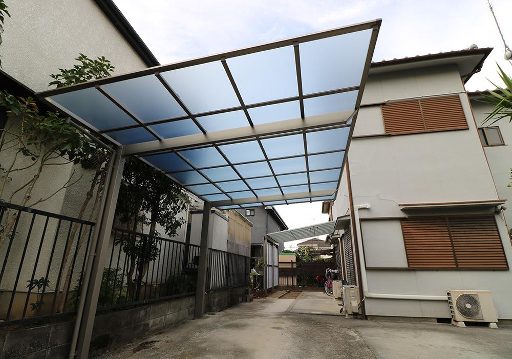 三木市 A様邸【カーポート・テラス屋根の修繕】 のアフター画像2