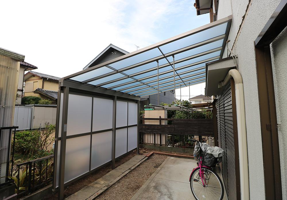 三木市 A様邸【カーポート・テラス屋根の修繕】 のアフター画像3