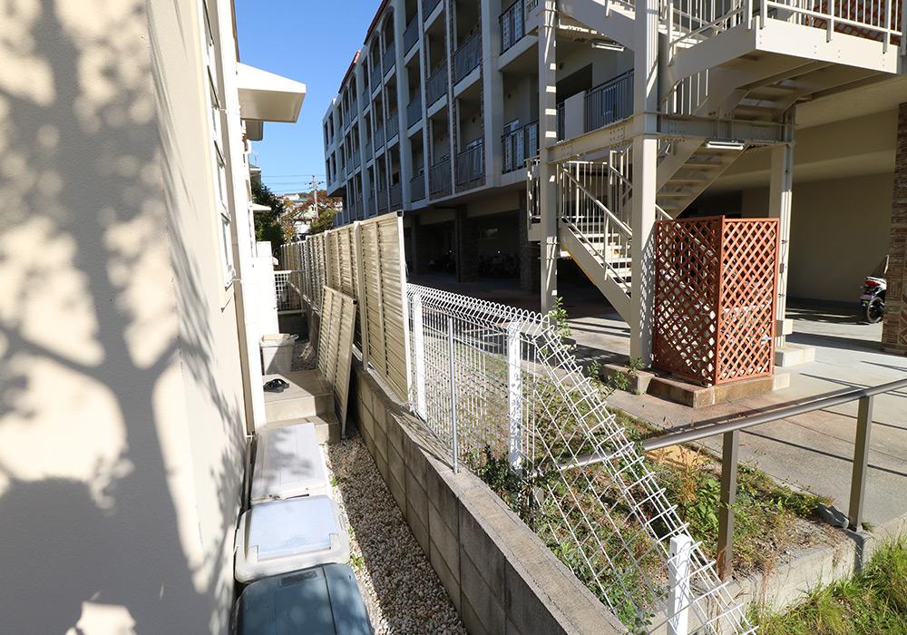 神戸市須磨区 M様邸【フェンスの修繕】 のビフォー画像2