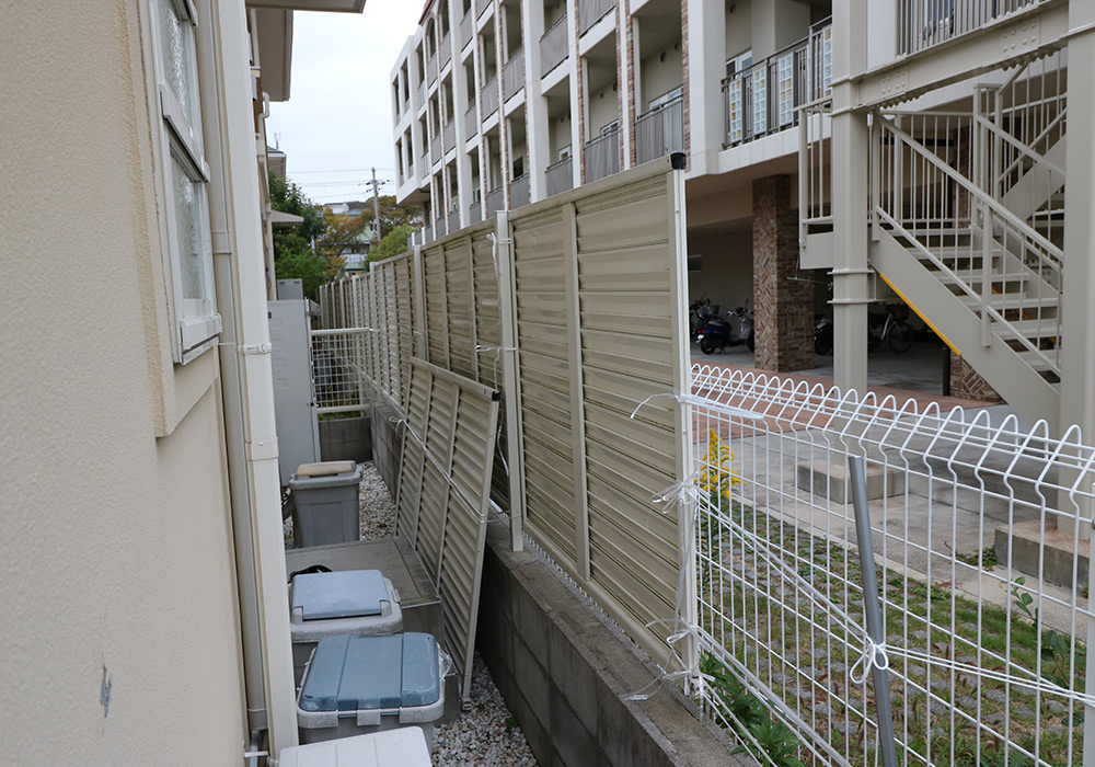 神戸市須磨区 M様邸【フェンスの修繕】 のビフォー画像4