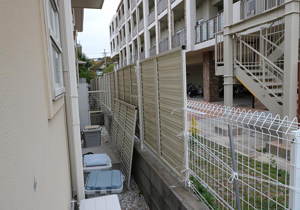 神戸市須磨区 M様邸【フェンスの修繕】 のビフォー画像5