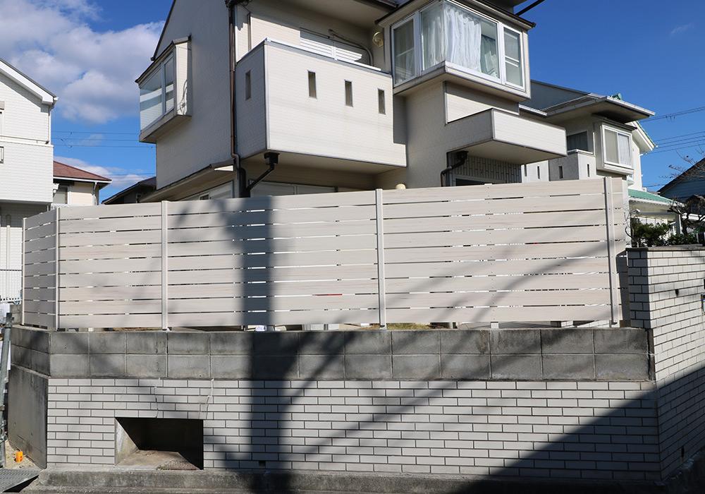 神戸市垂水区 N様邸【フェンスの修繕】 のアフター画像1