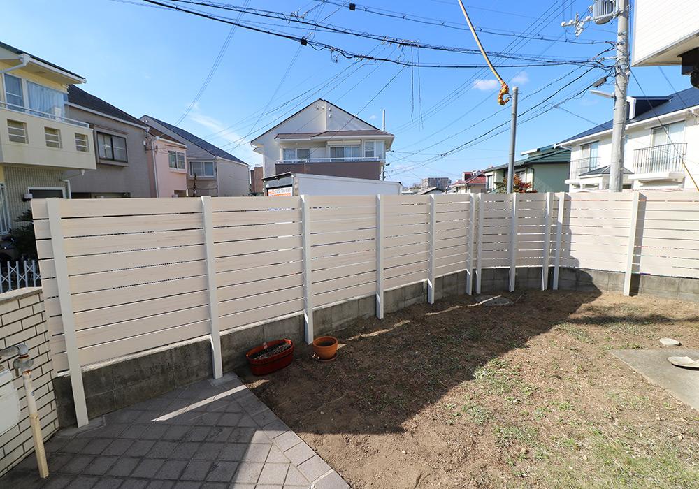 神戸市垂水区 N様邸【フェンスの修繕】 のアフター画像2