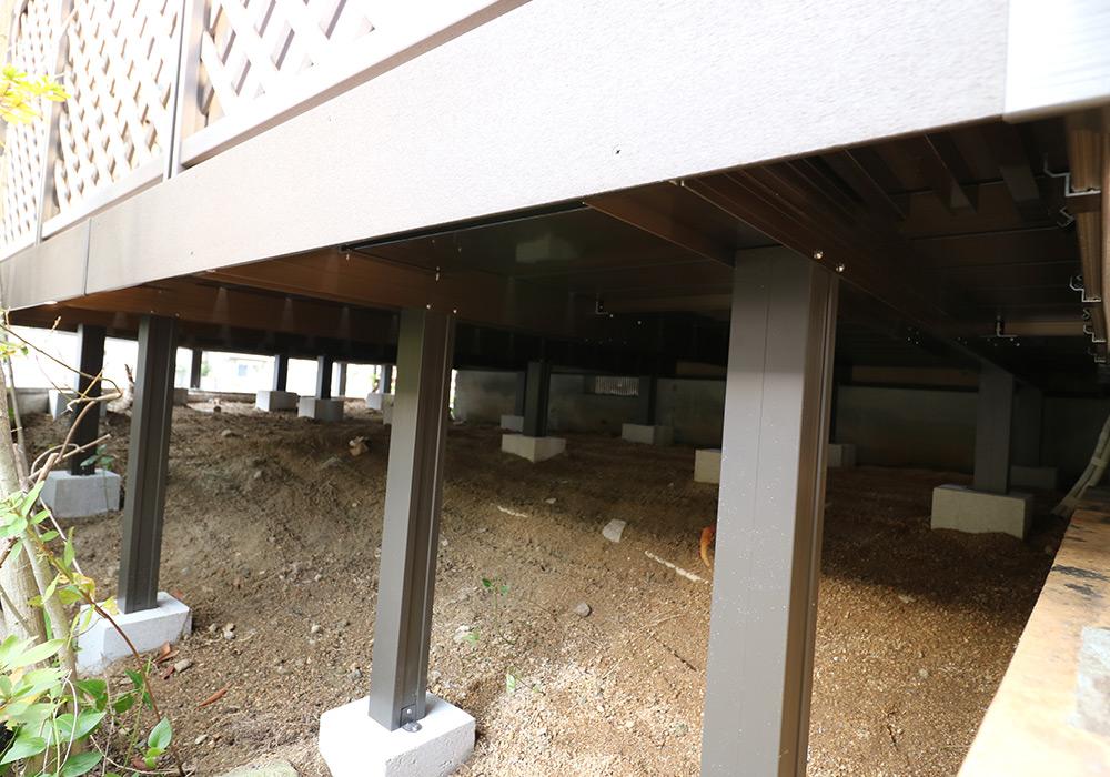 神戸市須磨区 Y様邸【ウッドデッキの修繕】 のアフター画像9