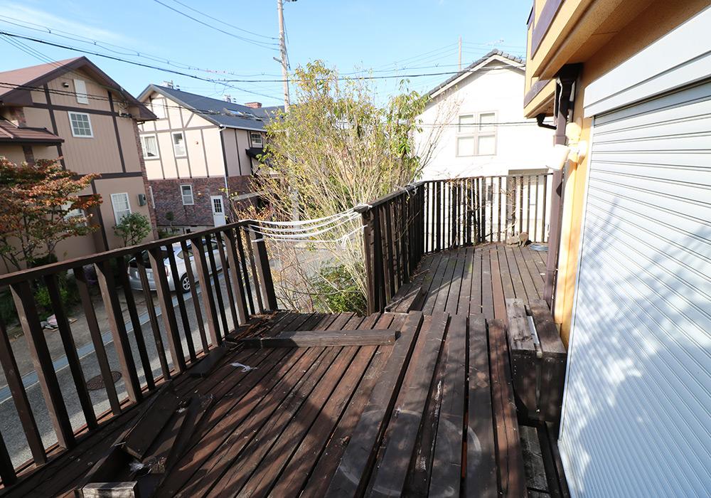 神戸市須磨区 Y様邸【ウッドデッキの修繕】 のビフォー画像6
