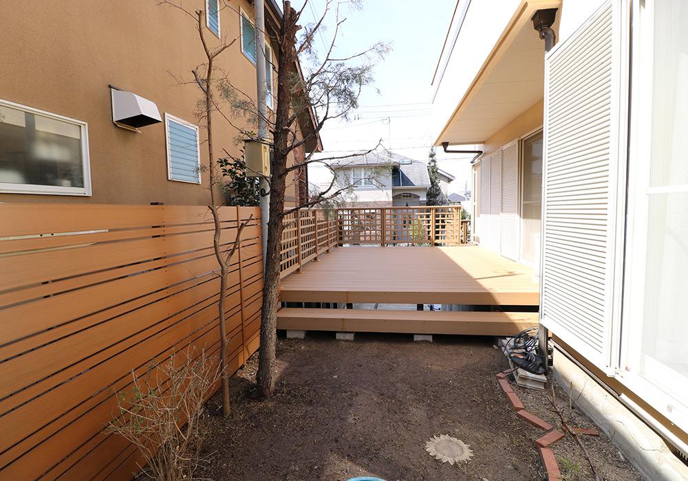 神戸市須磨区 Y様邸【ウッドデッキの修繕】 のアフター画像7
