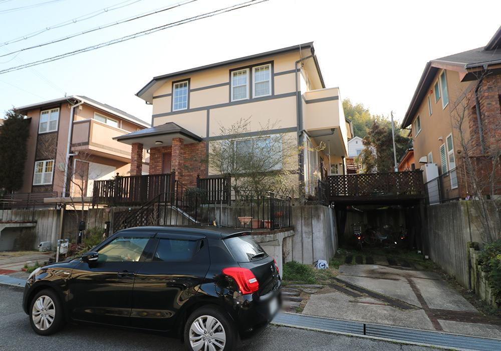 神戸市須磨区 Y様邸【ウッドデッキの修繕】 のビフォー画像2
