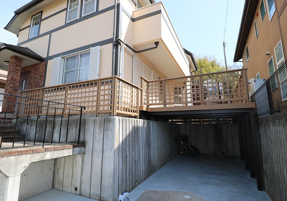 神戸市須磨区 Y様邸【ウッドデッキの修繕】 のアフター画像2