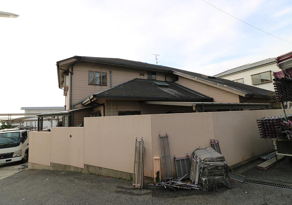 神戸市垂水区 I様邸【屋根・外壁の修繕】 のビフォー画像2