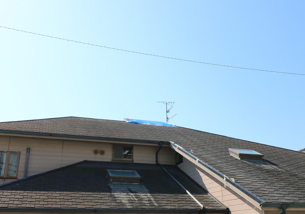 神戸市垂水区 I様邸【屋根・外壁の修繕】 のビフォー画像5