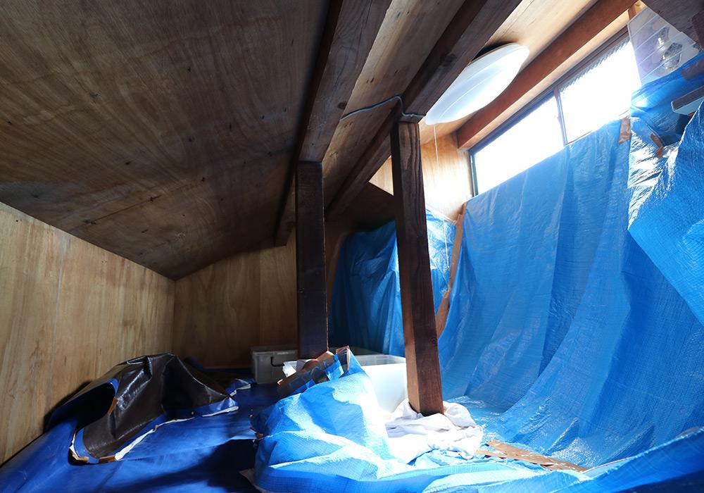 神戸市垂水区 I様邸【屋根・外壁の修繕】 のビフォー画像6