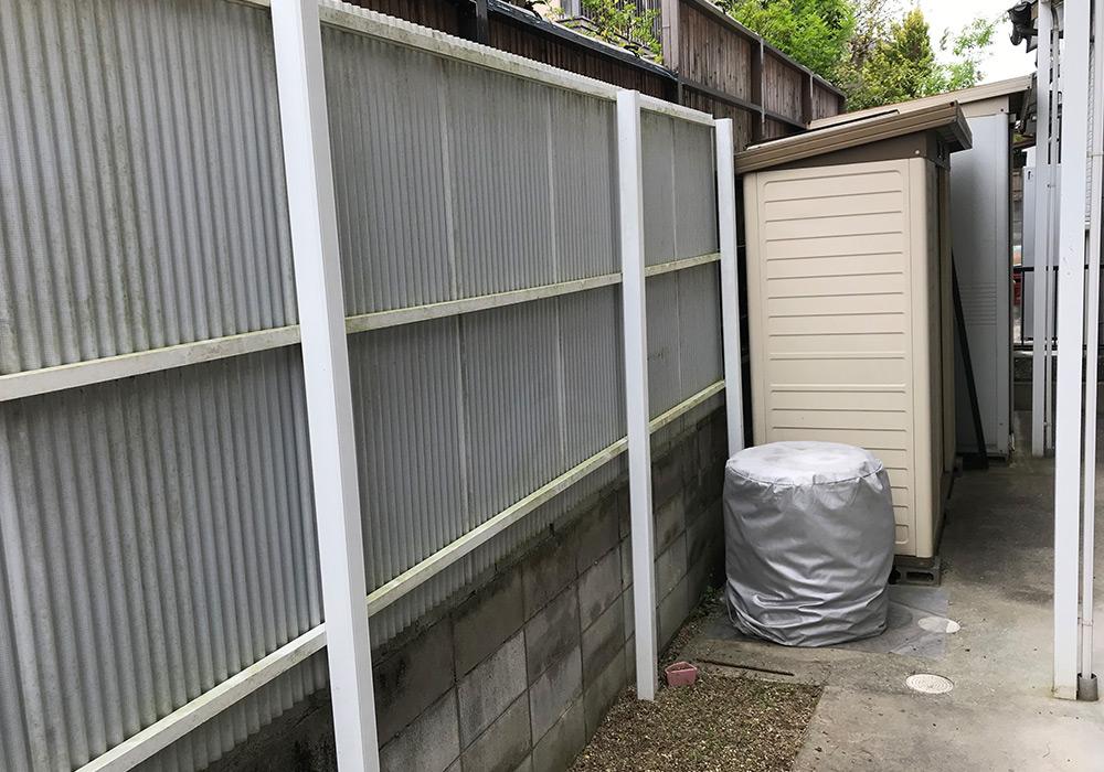 神戸市西区 K様邸【フェンスの修繕】 のビフォー画像1