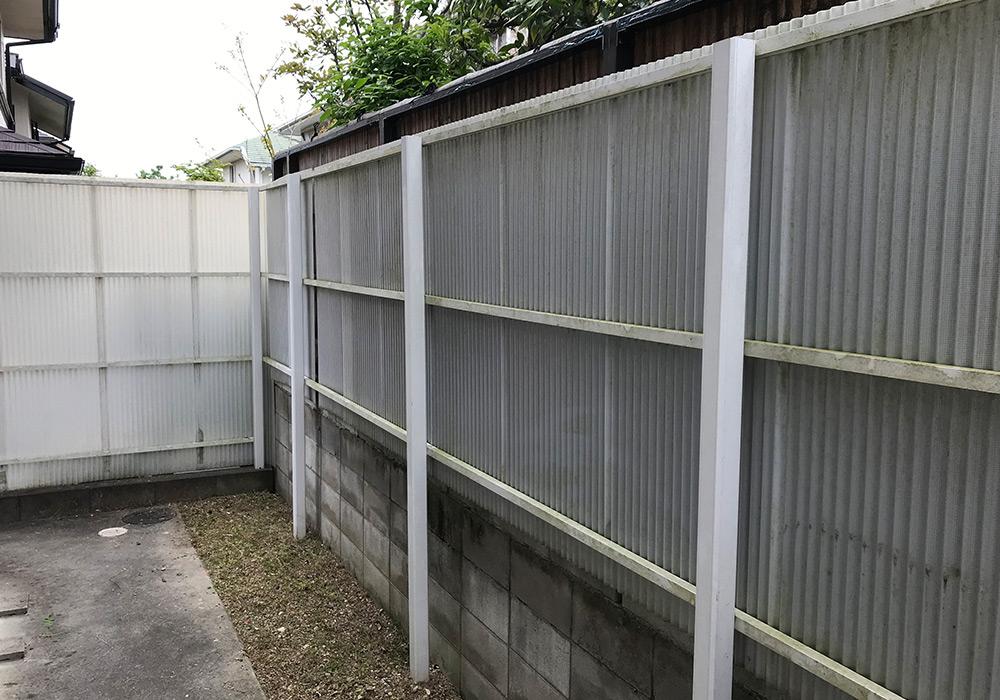 神戸市西区 K様邸【フェンスの修繕】 のビフォー画像2