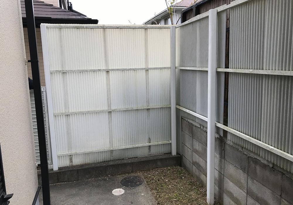 神戸市西区 K様邸【フェンスの修繕】 の工事中画像1