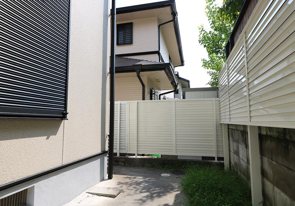 神戸市西区 K様邸【フェンスの修繕】 の工事中画像3