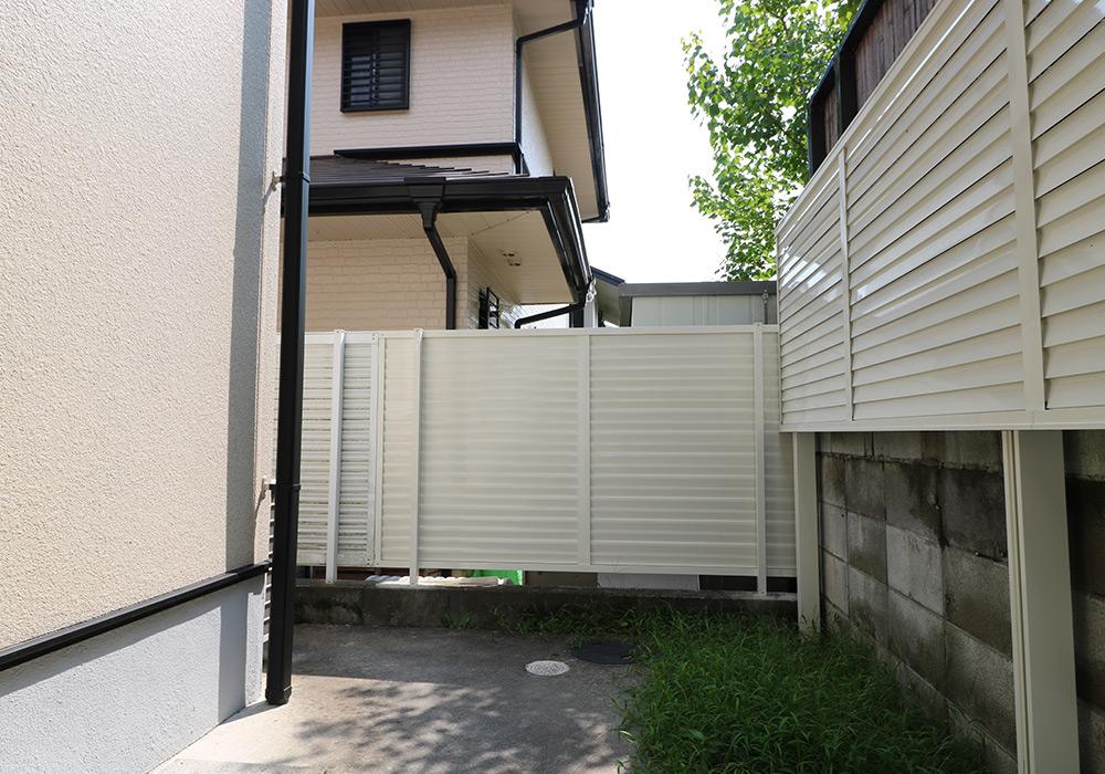 神戸市西区 K様邸【フェンスの修繕】 の工事中画像4