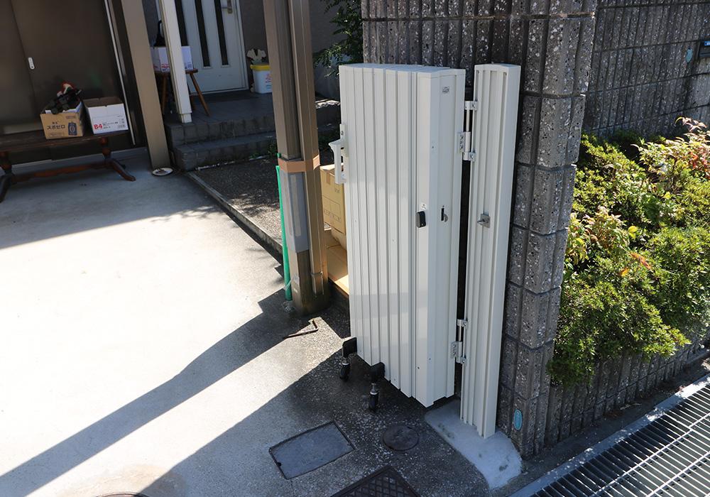 神戸市西区 T様邸【雨樋・伸縮門扉】 のアフター画像2
