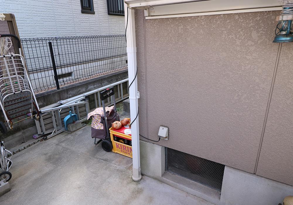 神戸市西区 T様邸【雨樋・伸縮門扉】 のアフター画像3