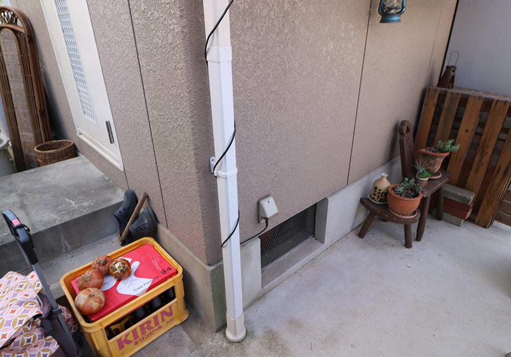 神戸市西区 T様邸【雨樋・伸縮門扉】 のアフター画像5