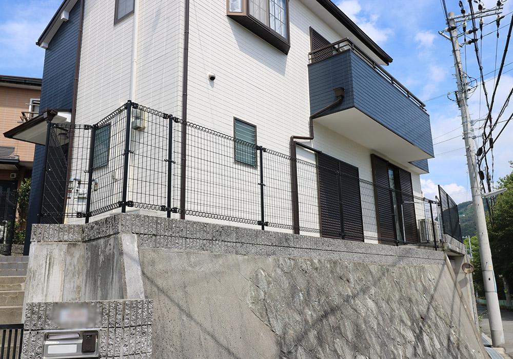 神戸市垂水区 B様邸【フェンスの修繕】 のアフター画像6