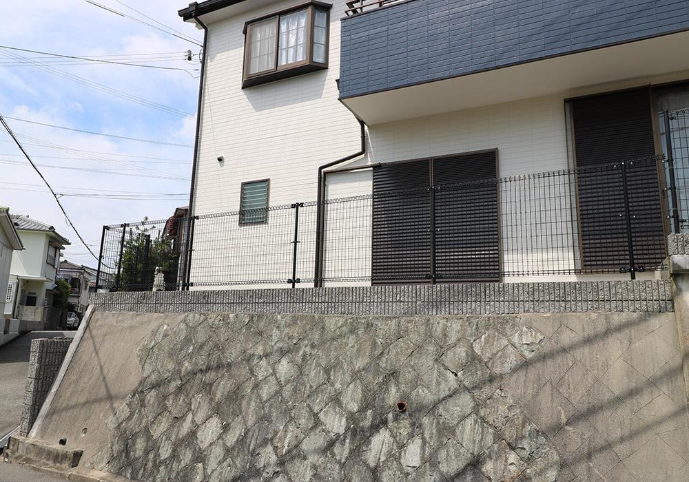 神戸市垂水区 B様邸【フェンスの修繕】 のアフター画像7