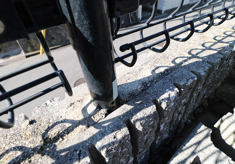 神戸市垂水区 B様邸【フェンスの修繕】 のビフォー画像4