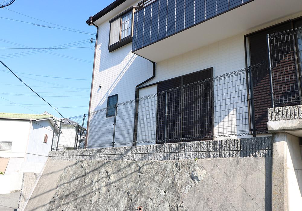 神戸市垂水区 B様邸【フェンスの修繕】 のビフォー画像5